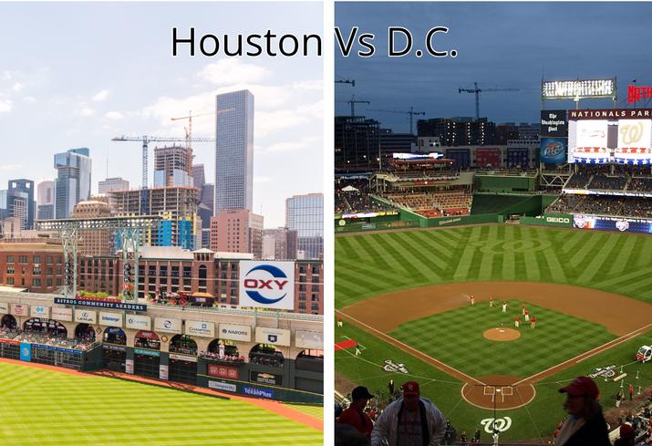Houston vs. D.C.