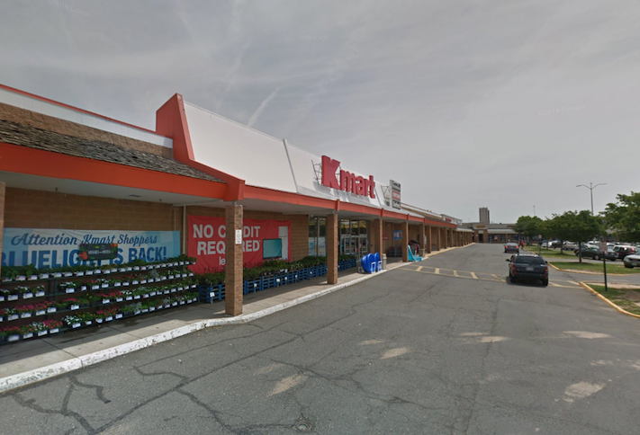 The Kmart in the Springfield Plaza shopping center, pictured in June 2018
