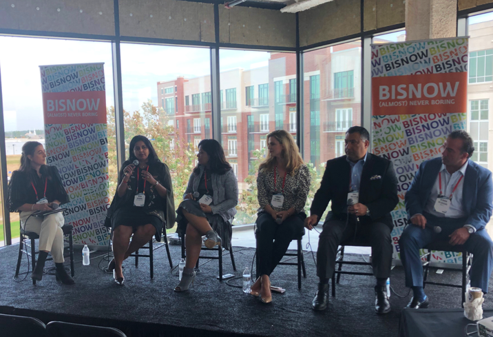 Integrate Director of Public Relations Jaclyn Anderson, Kavi Properties Director Of Assets Neha Agrawal, Launch Founder Bijal Patel, Caldwell Cos. Boardwalk Towne Lake Event Planner Lindsey Caldwell, Collaborate Founding Principal Saul Valentin, Marcel CEO Vernon Veldekens