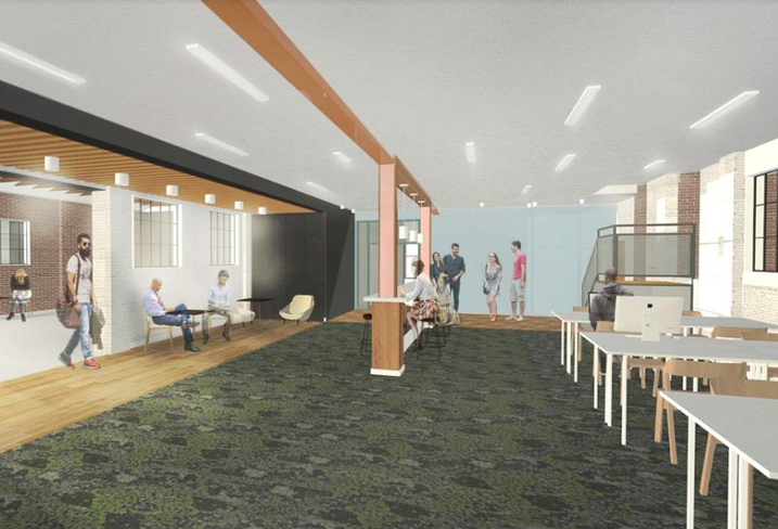 In Alexandria, A New Development Combines Coworking With Wellness