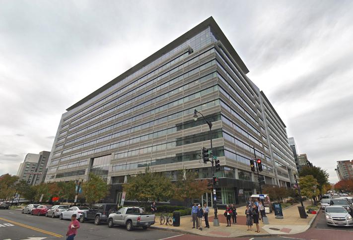The Sentinel Square I office building at 90 K St. NE
