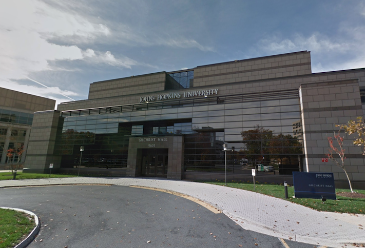 Johns Hopkins' Rockville campus at 9601 Medical Center Drive