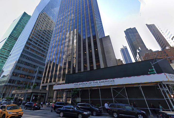 1133 Sixth Ave. in Midtown Manhattan