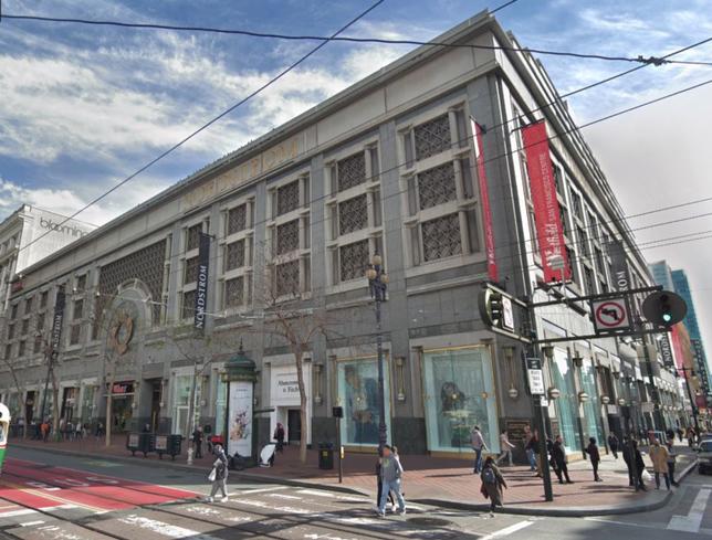 Westfield San Francisco Centre.