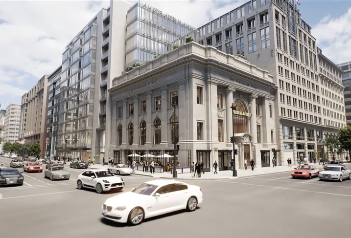 Design Bank Twist.Rooftop Terraces And Michelin Stars A 100 Year Old D C Bank Gets