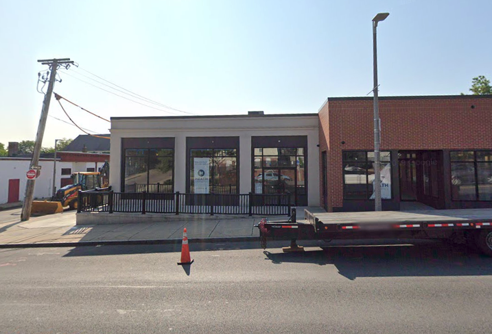 430 Blue Hill Ave., the site of Boston's first recreational cannabis dispensary.