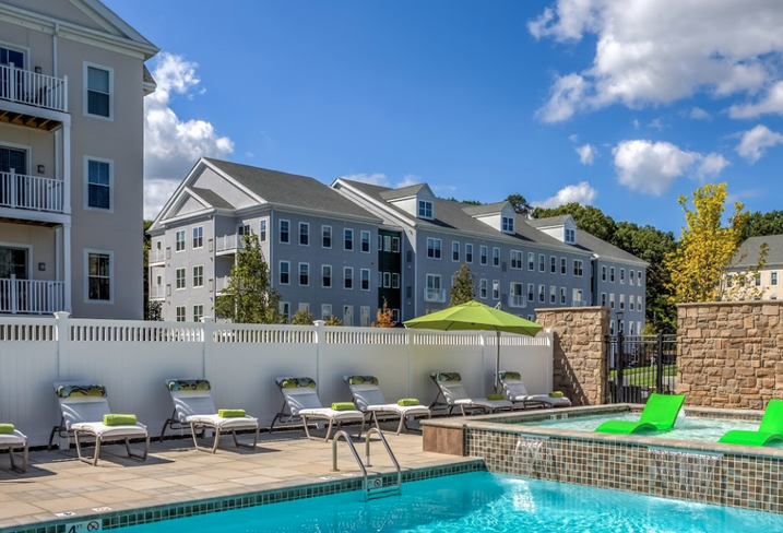 One Upland is a 262-unit multifamily complex in Norwood, Massachusetts.