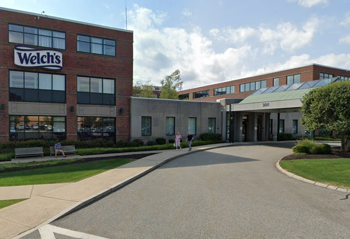 Welch's Foods Inc. at 300 Baker Ave., Concord, Massachusetts.