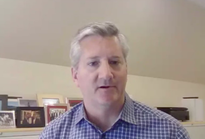 Carr Properties CEO Oliver Carr on Bisnow's Town Hall webinar.