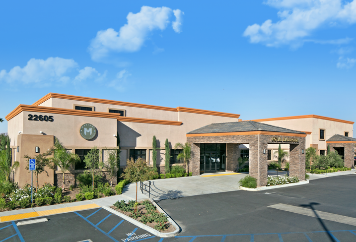 A medical office building at 22555 Alessandro Blvd. in Moreno Valley