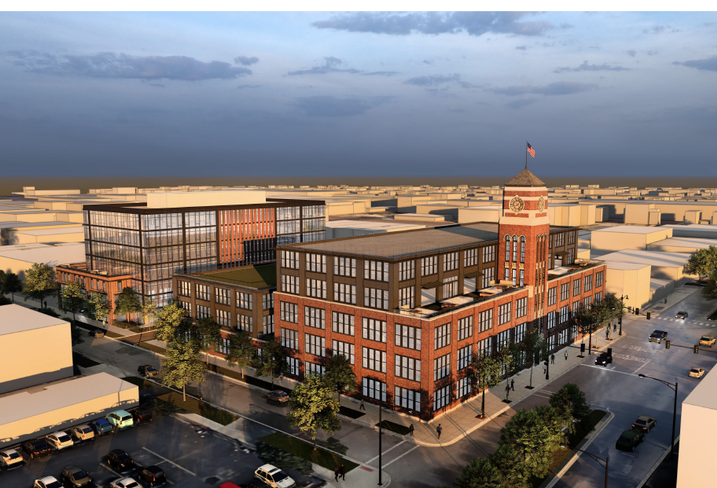 This is a rendering of a Peppercorn Capital opportunity zone project in Chicago