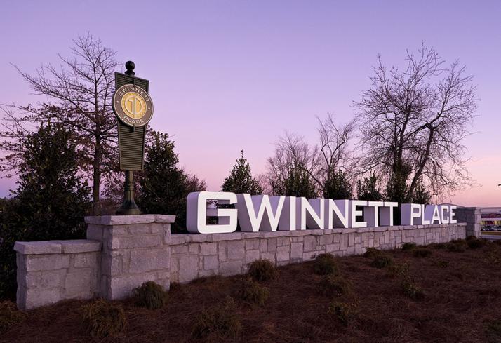 Gwinnett Place Monument Sign