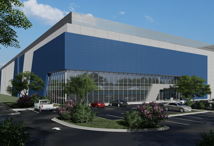 The first data center on Aligned's Ashburn campus completed construction last year.