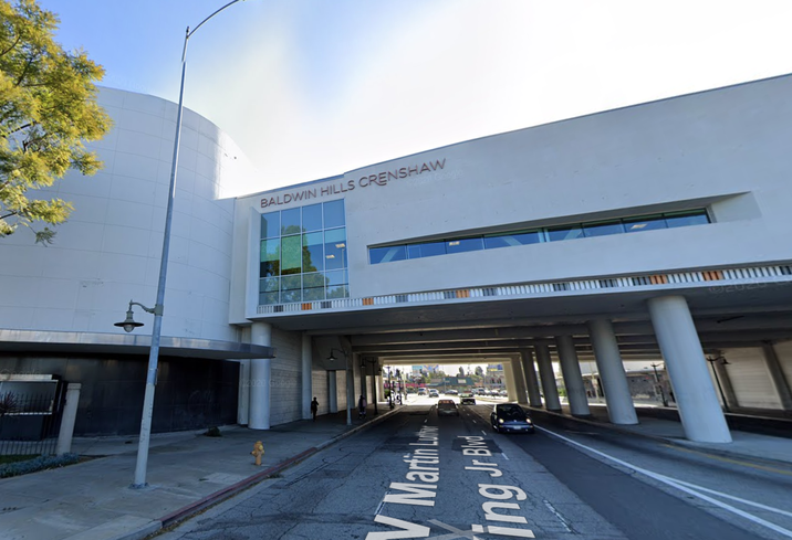 The Baldwin Hills Crenshaw mall in South Los Angeles