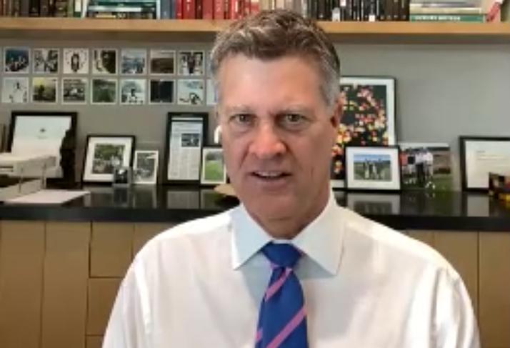 Cushman & Wakefield CEO Brett White on Wednesday's Walker Webcast.