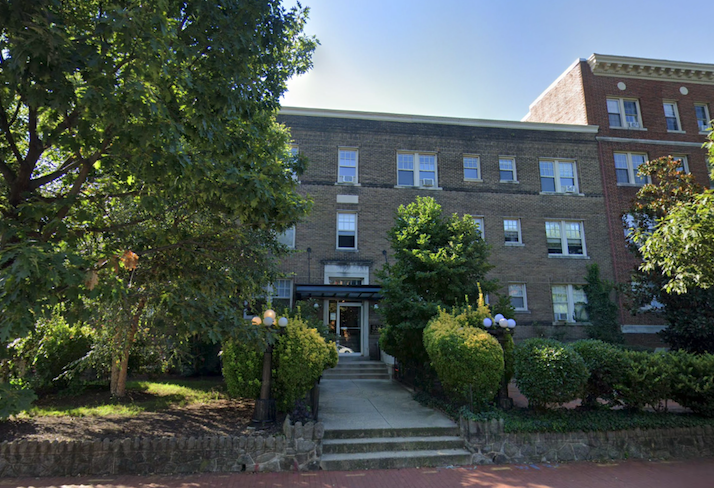The Barbara, a 24-unit apartment building at 821 Maryland Ave. NE that Topher Swanson owns.