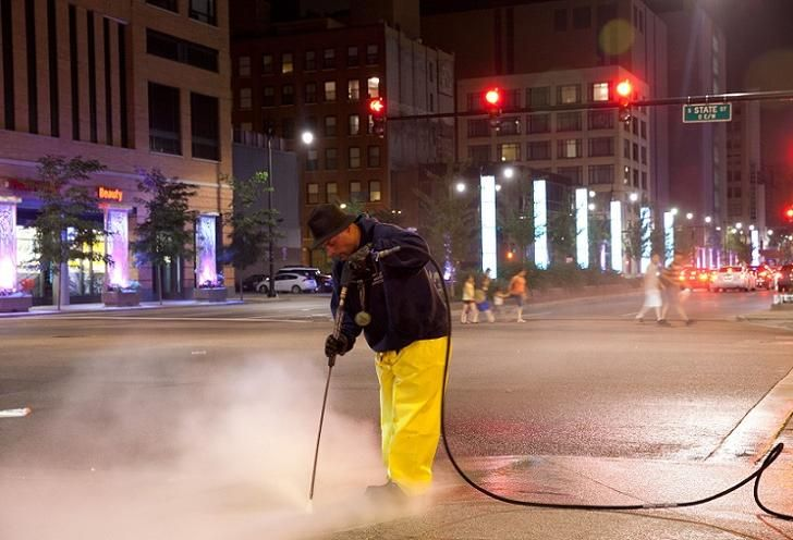 Downtown Businesses Plan On Giving State Street A Deep Cleaning Every Week