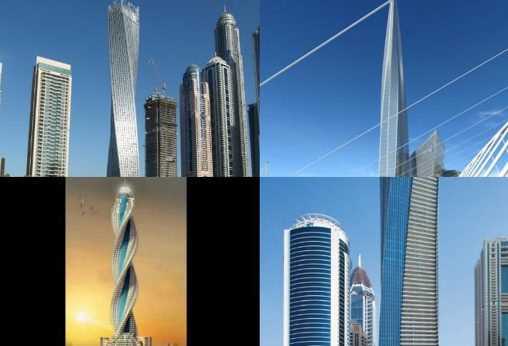 7 Of The Tallest Skyscrapers In The World, With A Twist