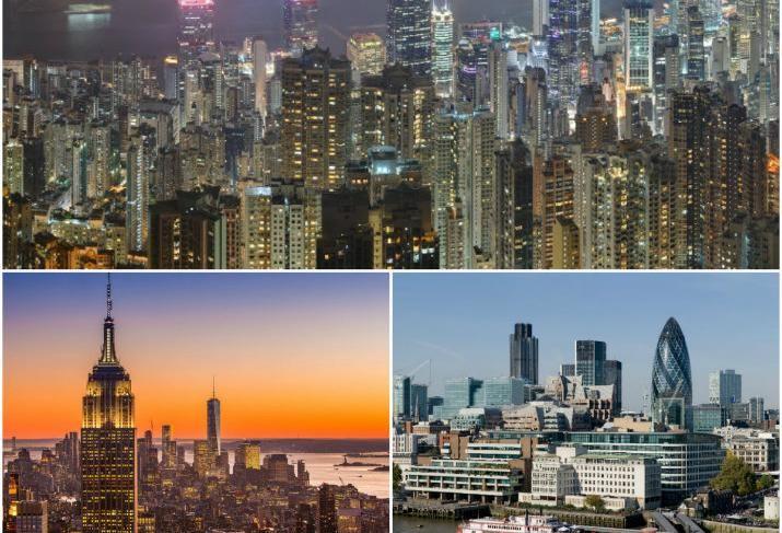 Top 6 Premium Office Market collage