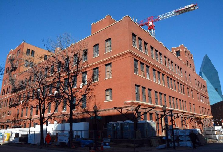 Granite Property's Factory Six03 in Dallas' historic West End Bisnow: Julia Bunch