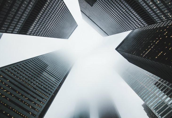 Office building, office market, skyscraper, offices