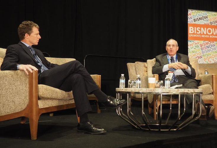 Walker & Dunlop CEO Willy Walker and Freddie Mac CEO Donald Layton