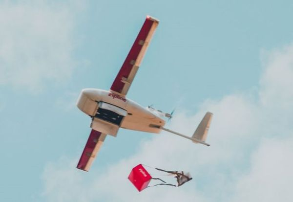 Walmart Delivery Drones Take To The Sky