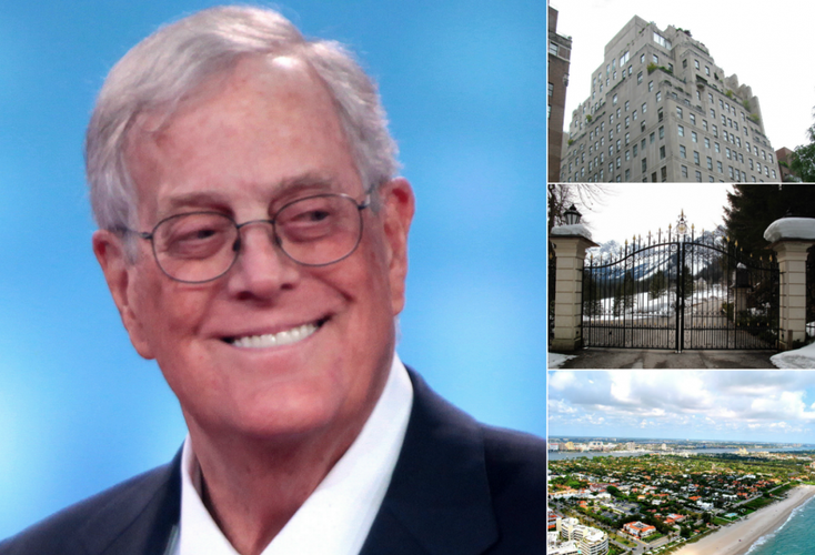 Koch brothers property collage