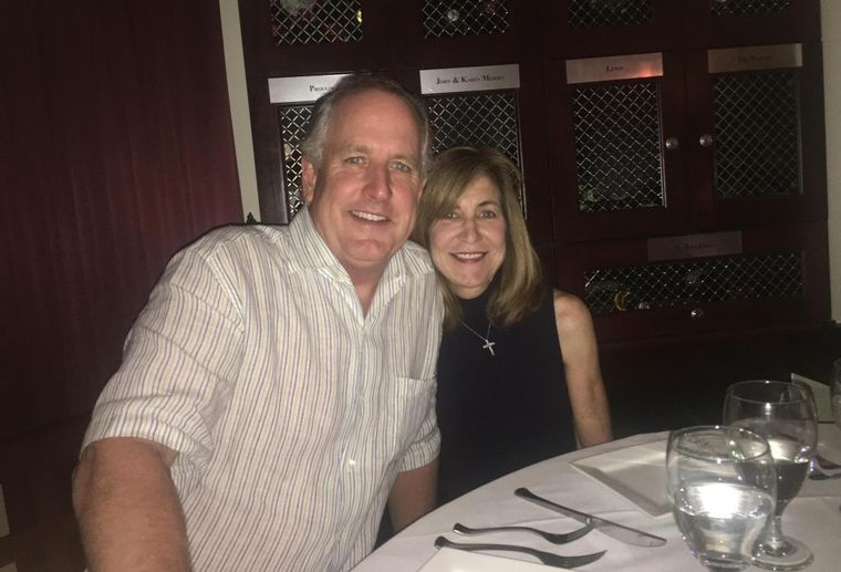 Colvill Properties founder Chip Colvill and wife