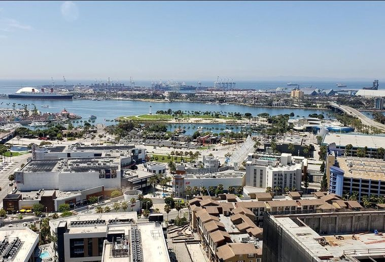 A view of Long Beach