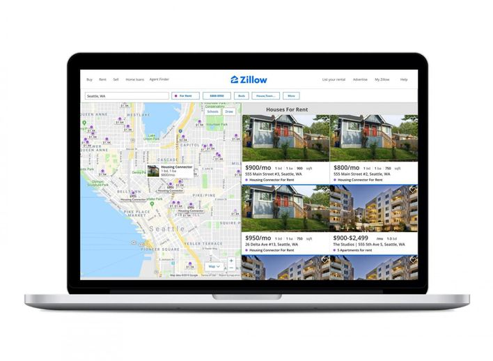 Zillow Affordable Housing Homelessness search tool