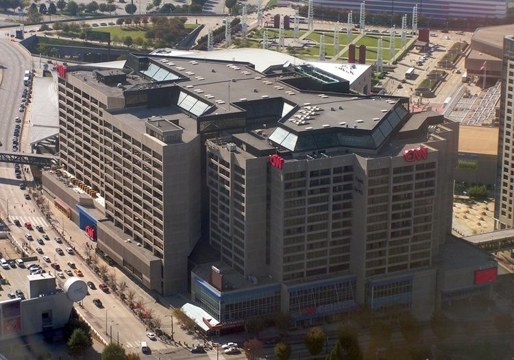 The 'Obvious Buyer'  For CNN Center Has $5B Of Motivation Across The Street