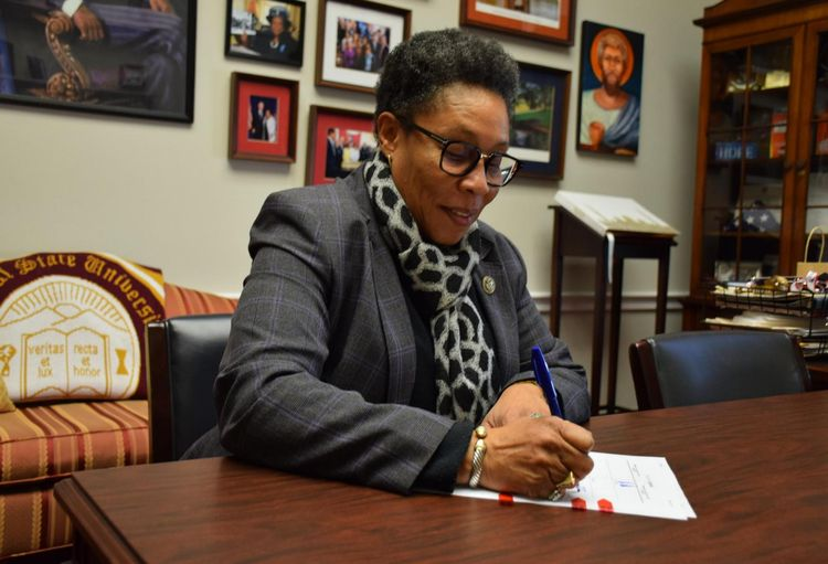 Former Congressional Black Caucus Chair Marcia Fudge Tapped To Lead HUD