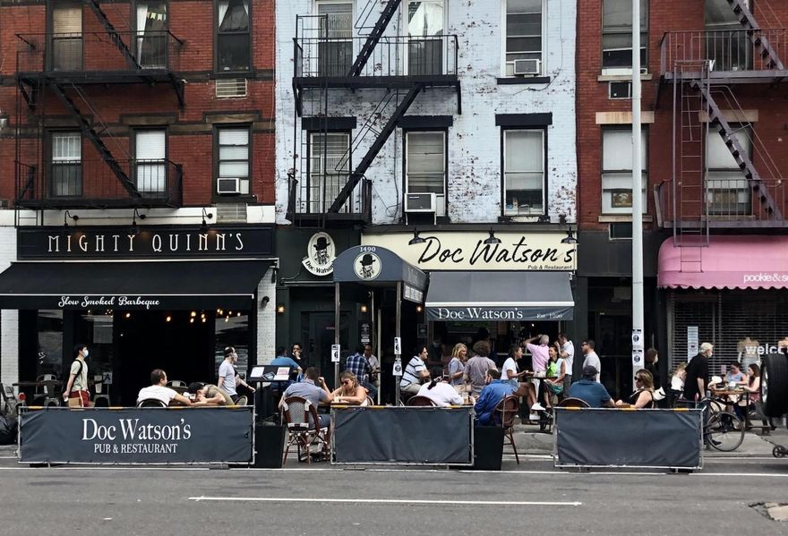 As New York City Pushes Ahead With Reopening, The Restaurant Industry Remains Imperiled