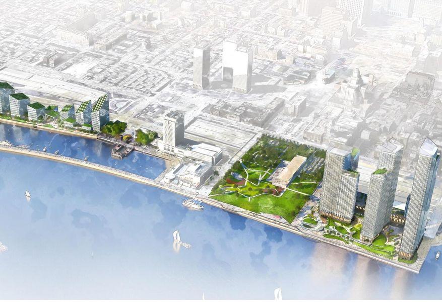 All The Details On Durst's Plan For Penn's Landing
