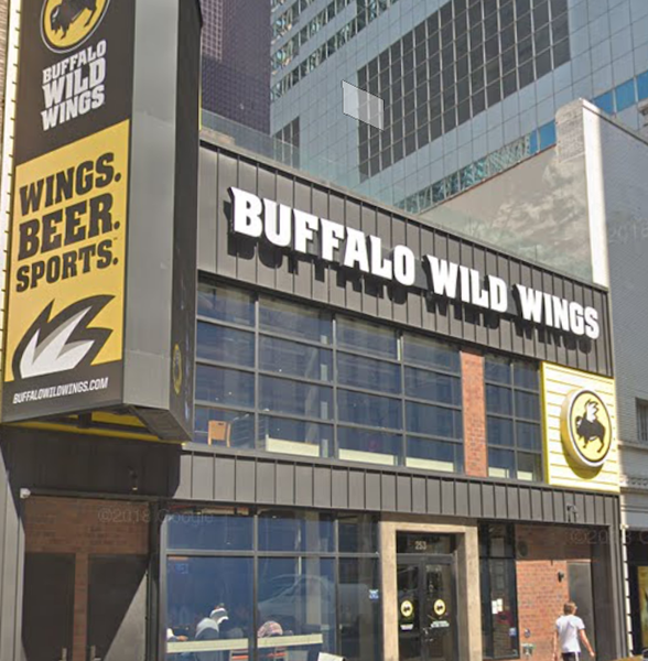 Buffalo Wild Wings Sued For $3M In Back Rent, Taxes At Closed Times Square Location