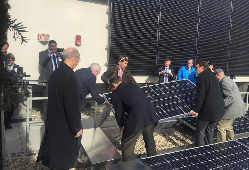 Top D.C. Building Owners Install Solar Panels As City Sets Ambitious Clean Energy Goal