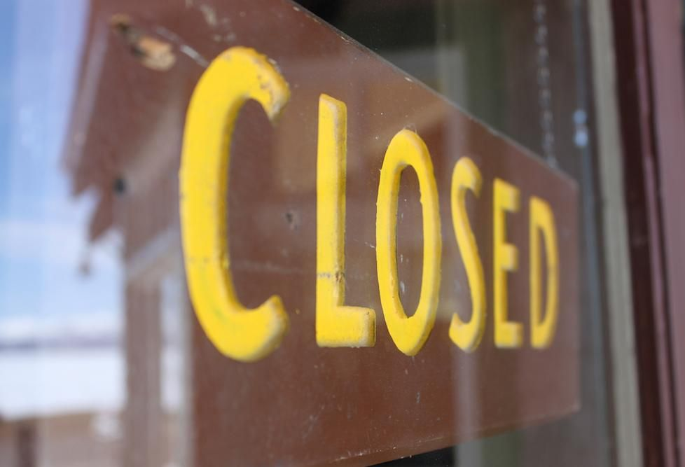 Permanent Business Closures Spike Because Of Pandemic