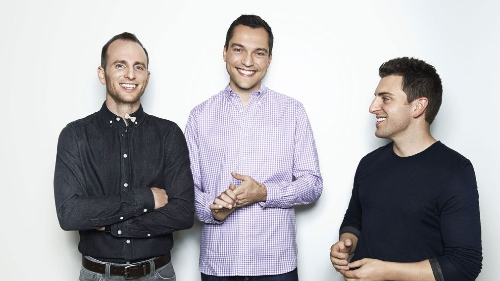 Joe Gebbia, Nathan Blecharczyk & Brian Chesky