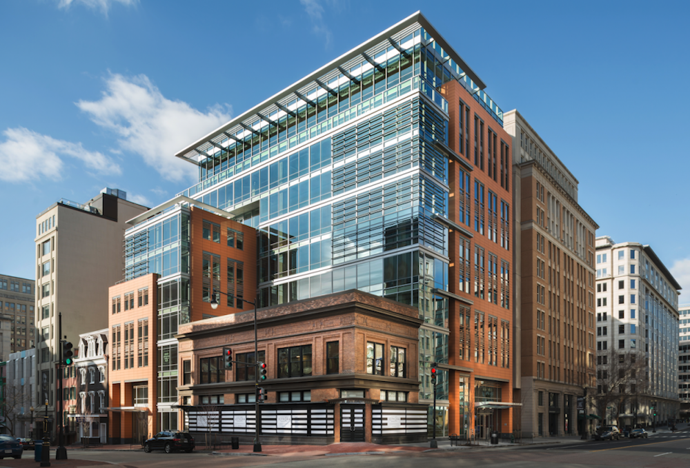 Douglas Sells New F Street Office Building For $106M