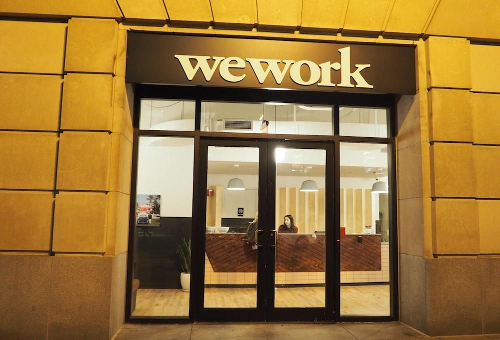 SoftBank Commits $1.1B To Shore Up WeWork