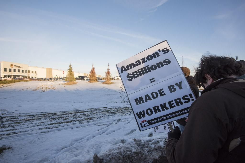 An Organized Labor Resurgence Could Be Forming In E-Commerce Distribution Centers
