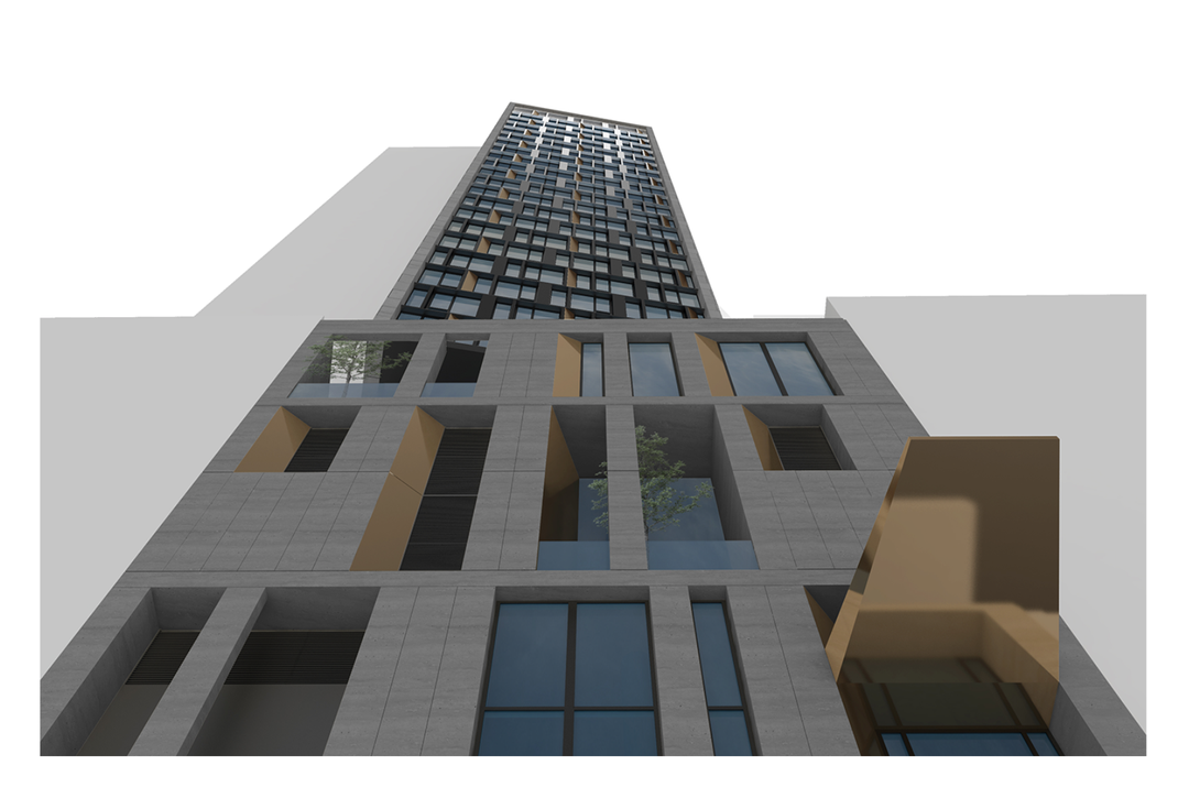 The Pieces Of The World's Tallest Modular Hotel Are Stuck In A Brooklyn Port
