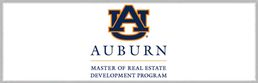 Auburn Master of RE Development Program