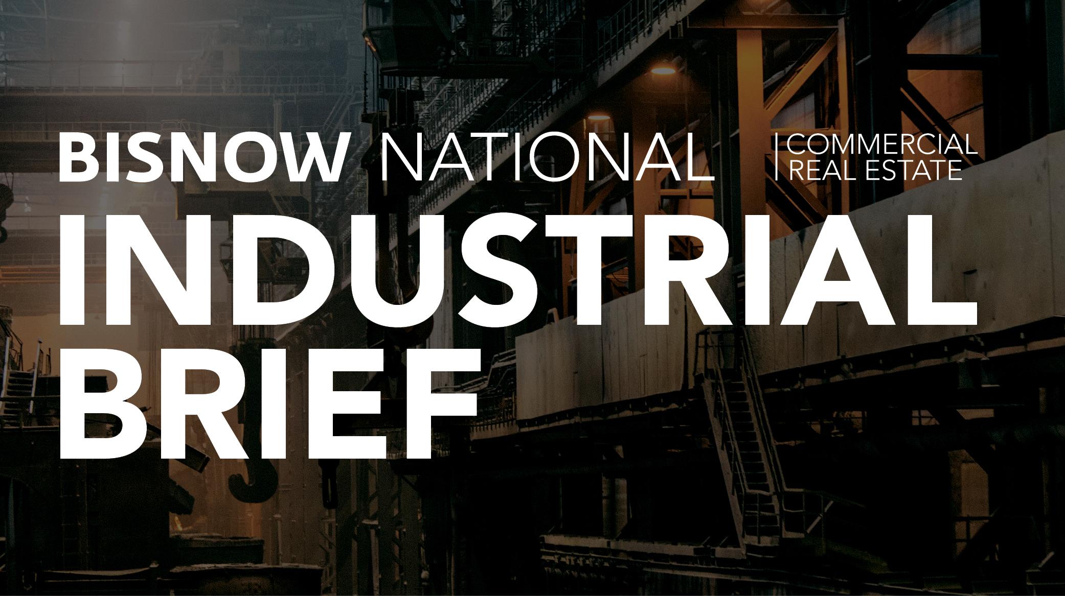 Bisnow Morning Brief Industrial Weekly