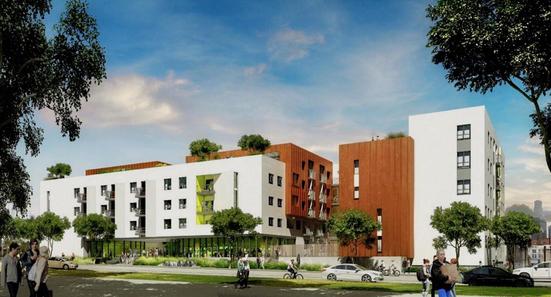 Abode Communities is developing Grandview Apartments a 100-unit affordable housing project in Los Angeles